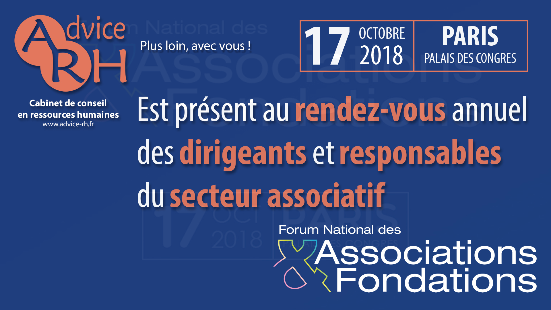 Advice RH - Forum National des Associations & Fondations