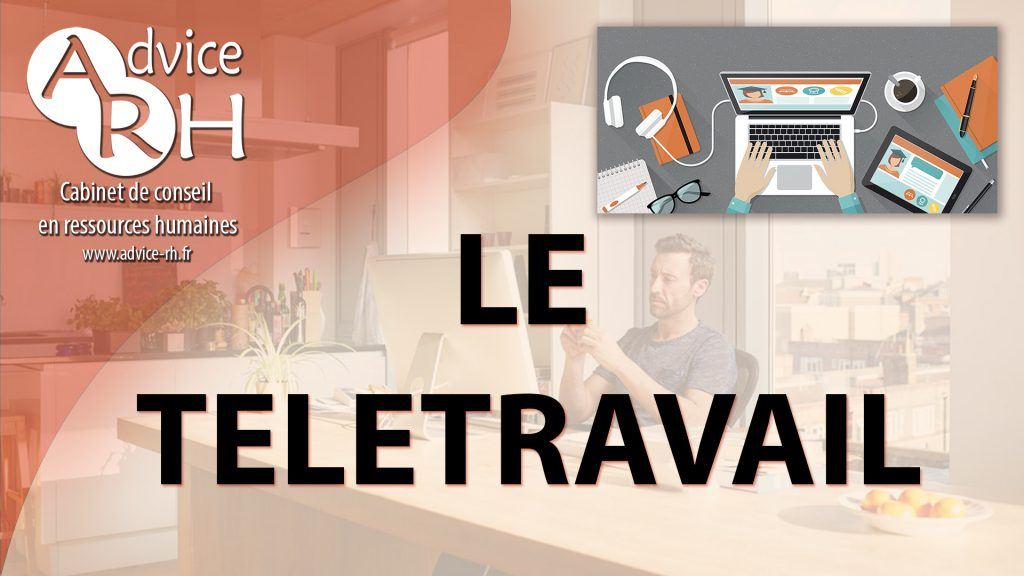 Advice RH - Article : Le teletravail