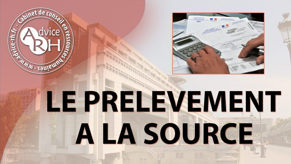 Advice RH - Article : Le prelevement a la source