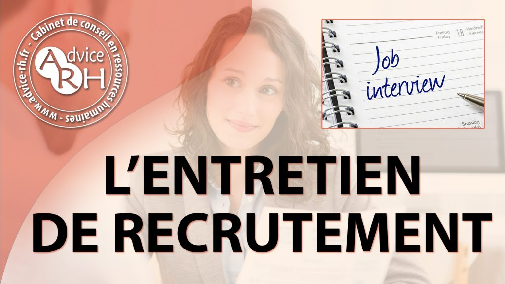 Advice RH - Article : L'entretien de recrutement