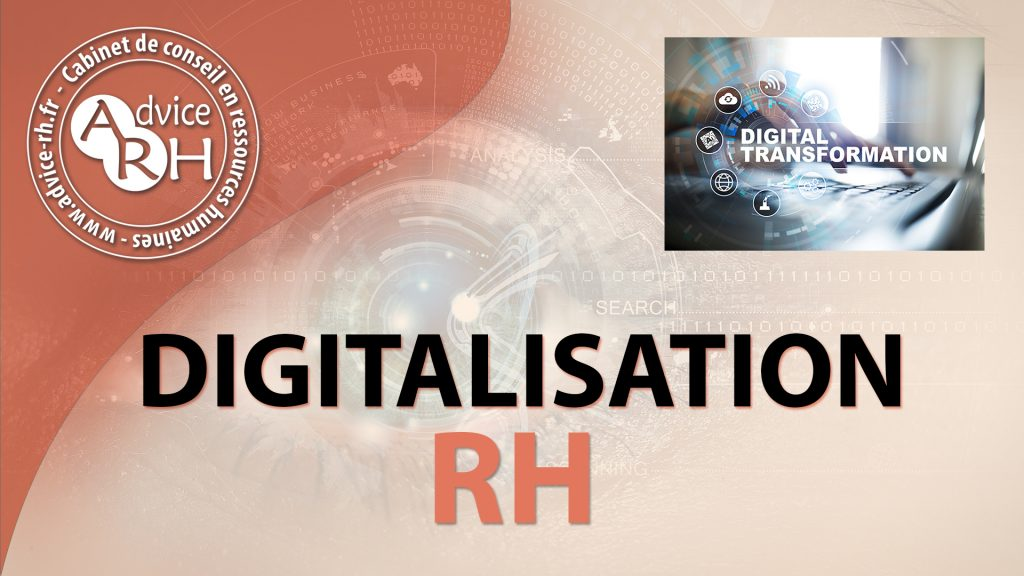 Advice RH - Article : La La digitalisation de la fonction RH