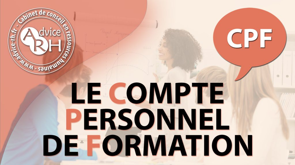 Advice RH - Article : Le Compte Personnel de Formation - CPF