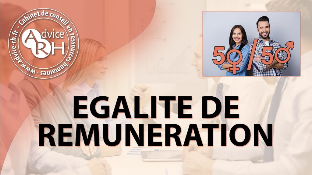 Advice RH - Article - Egalite de remuneration