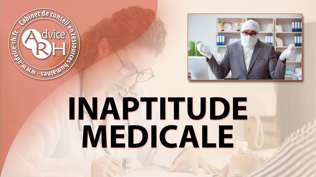 Advice RH - Article - Inaptitude médicale