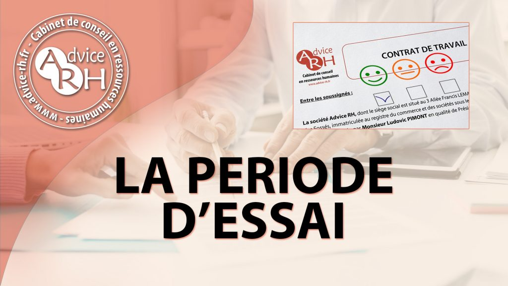 Advice RH - Article - La periode d'essai