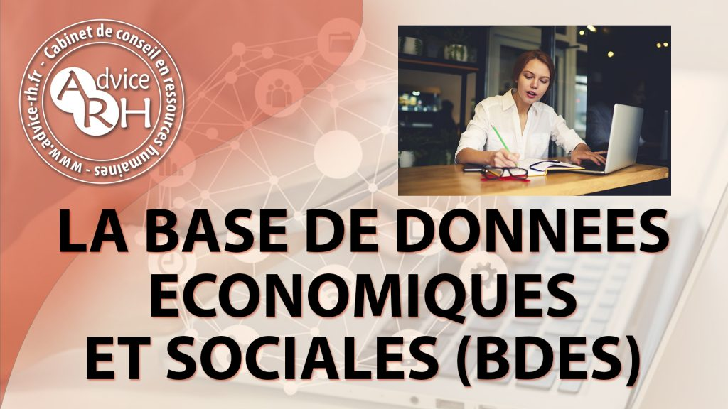 Advice RH - Article - La base de donnees economiques et sociales - bdes