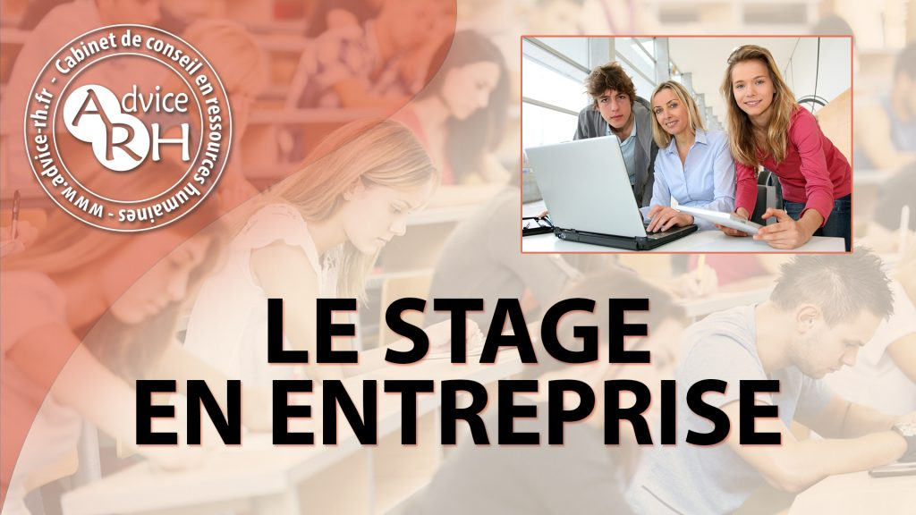 Advice RH - Le stage en entreprise
