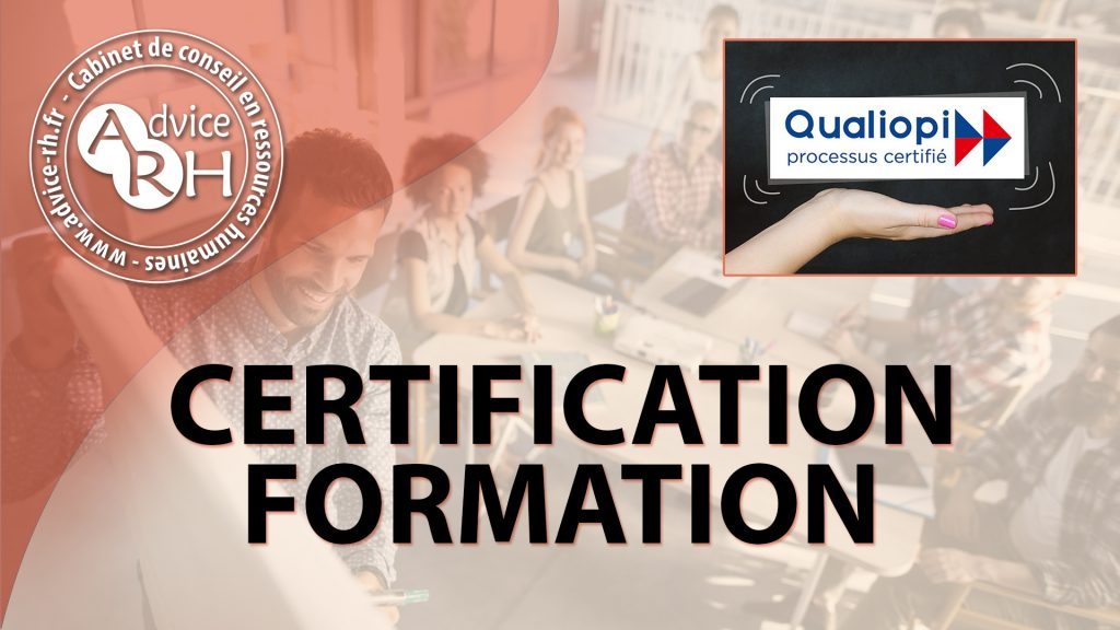 Advice RH : Qualiopi certification formation
